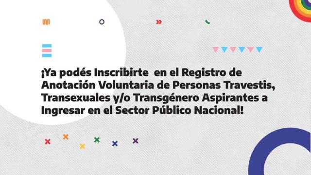 ¡Inscribite para trabajar en el sector público nacional!