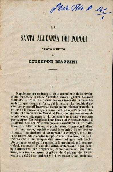 Figura 2. Immagine tratta da: La Repubblica Romana del 1849. Banca dati curata dalla Biblioteca di storia moderna e contemporanea di Roma.