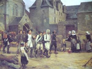 04 Julies Giradet - I rivoltosi di Fouesnant arrestati dalla Guardia Nazionale nel 1792 - 1886