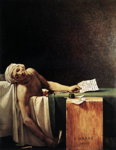 05 Jacques-Louis David - La morte di Marat - 1793