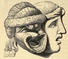 Figura 14. Maschere romane. Immagine tratta dal testo citato di Parton.