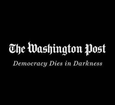 «La democrazia muore nell'oscurità»