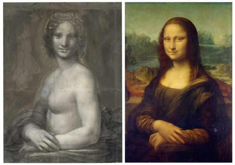 Figura 1. Monna Vanna e Monna Lisa.