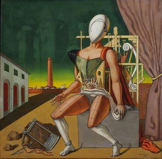 Figura 6. Orfeo trovatore stanco, Giorgio De Chirico, 1970.