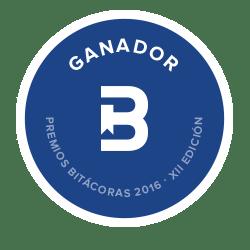 Ganadores de los Premios Bitácoras 2016