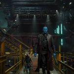 Guardianes de la galaxia 2 Yondu y Rocket en la nave