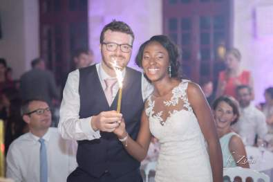 Iris et Jean - Mariage Franco gabonais - Demoiselle capeline wedding planner Bretagne- Photographe ZIMBA