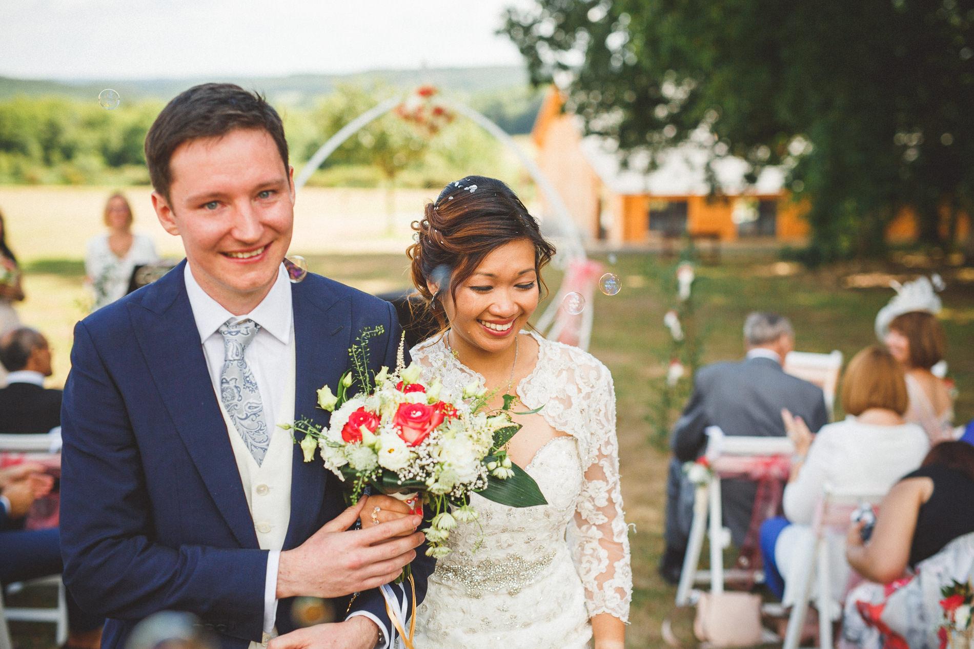 votre wedding planner en Bretagne a imaginé un mariage à bulles chic et romantique