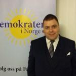 Per-Christian Stenvaag er fylkesleder for Demokratene i Hedmark