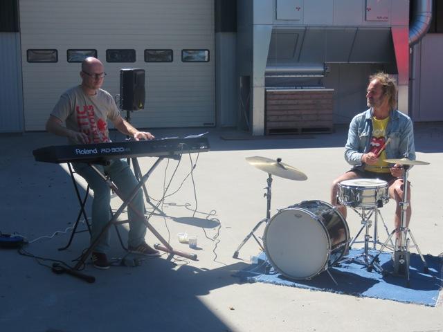 Stempelpost muziek Hein Jaap en Hendrik