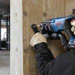 Bosch GBH18V-26DK25 18V EC Brushless SDS-plus Bulldog 1 In. Rotary Hammer Kit with (2) CORE18V 4.0 Ah Compact Batteries
