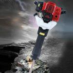 52CC Gas Powered Demolition Jack Hammer Concrete Rock Breaker 2-Stroke 1.9KW 1500bpm