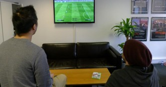 FIFA Night in the office