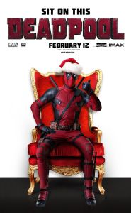 Deadpool's strategic marketing campaign has covered most of the holidays including Christmas.