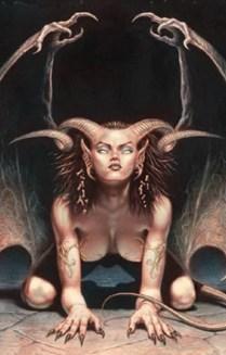 List of female demon names