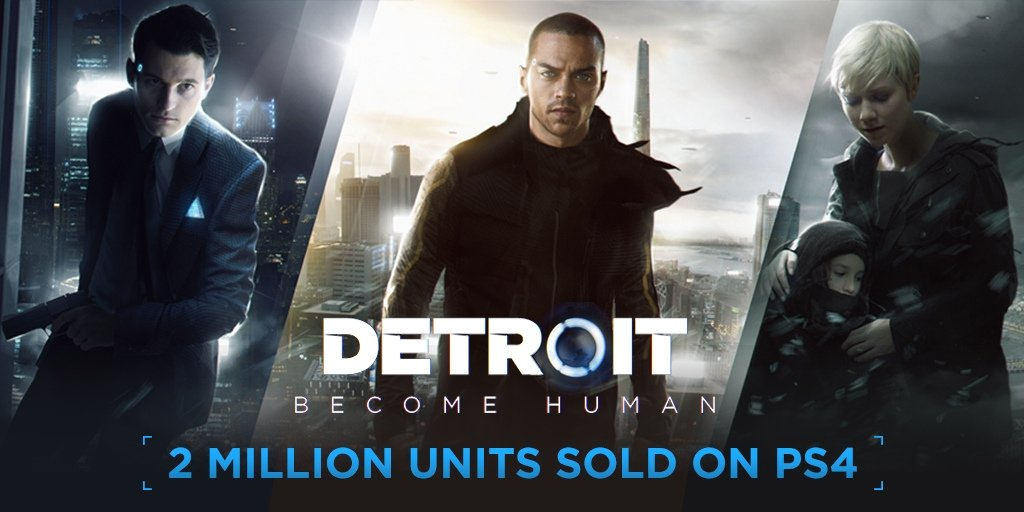 Detroit becomes human is the fastest selling Quantic Dream title