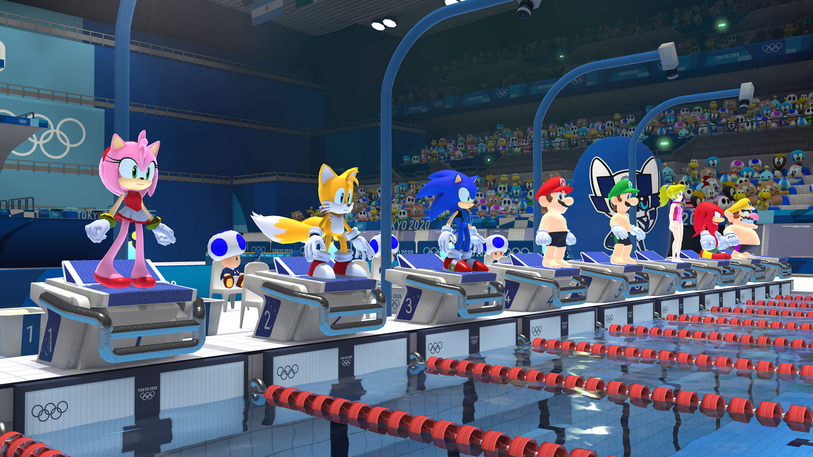 Mario And Sonic 2020 Winter Olympics.Mario And Sonic At The Olympic Games Tokyo 2020