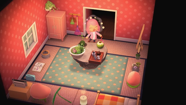 Animal Crossing: New Horizons (Nintendo Switch) 7 on Animal Crossing New Horizons Living Room  id=97621