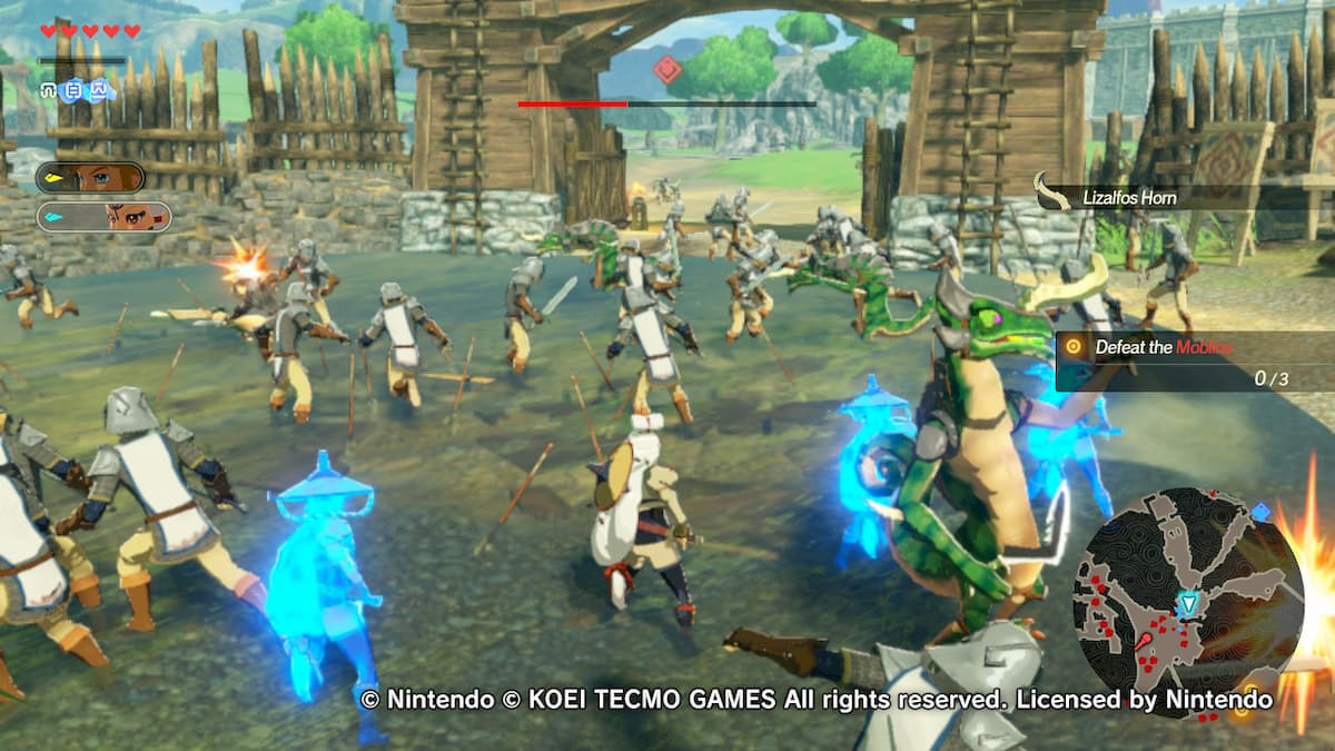 Hyrule Warriors Age Of Calamity Nintendo Switch Demon Gaming