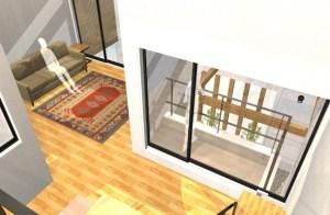 間取りデザイン01|好きなデザインに囲まれてワクワクする広がりを感じる空間