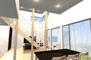 間取りデザイン08|明るい家族が過ごす明るく気持ちの良い家