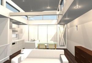 間取りデザイン06 狭小敷地に建てるやさしい自然光を感じる家