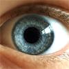 Foto van een oogbal