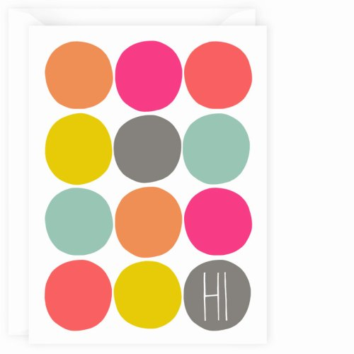 multi dots hi card