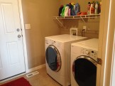 Laundry Room (extra hanging space on opposite side)
