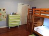 Bedroom 2 wood floors