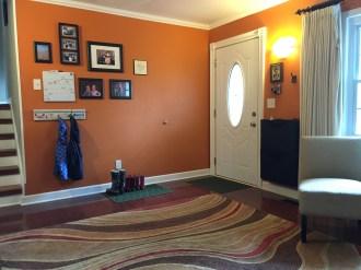 Living Room Front Door
