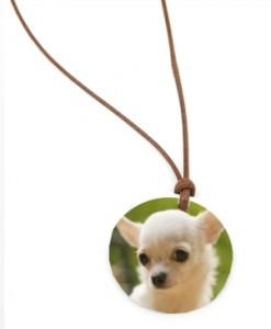 colgante mascota perro