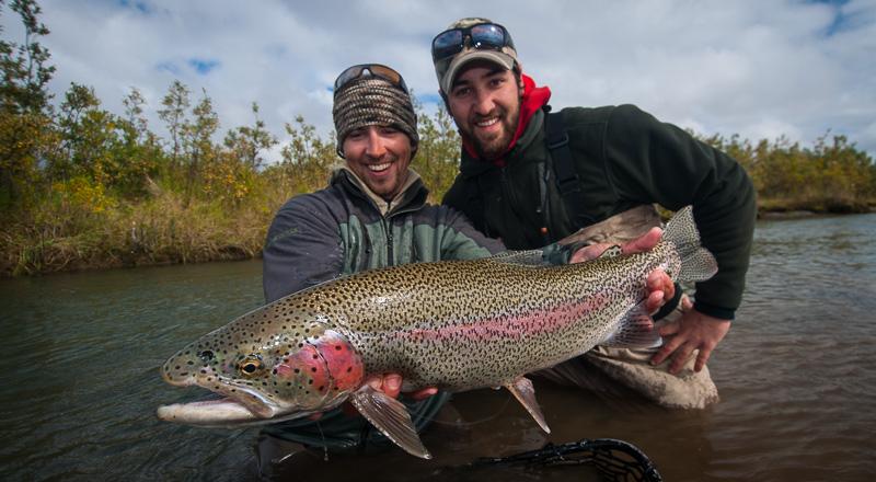 Rainbow Trout at Alaska West