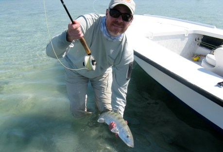 They caught a bonefish!  Photo: Gary Thompson
