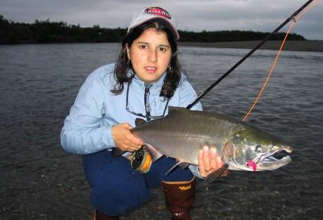 She's fishy too.  Photo: Rick Sisler