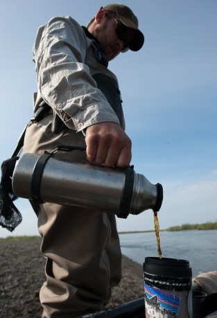 A thermos never hurts either.  Photo: Cameron Miller