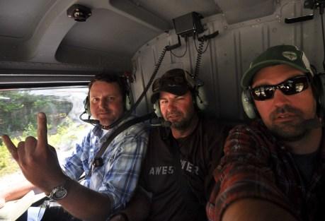 Team Heli-Awesomer.  Photo: Jeff Hickman.