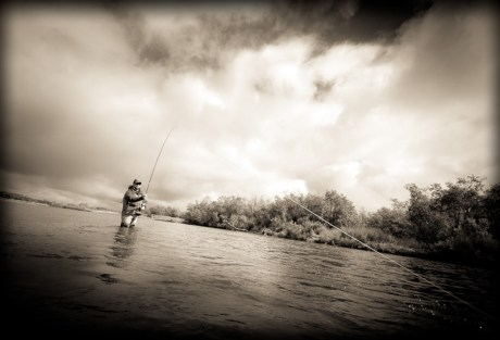 Spey Casting by Louis Cahill Photography
