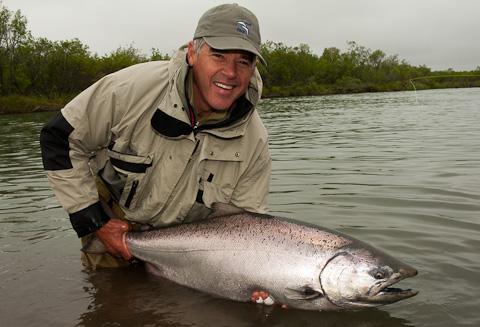 Salmon Grand Slam at Alaska West
