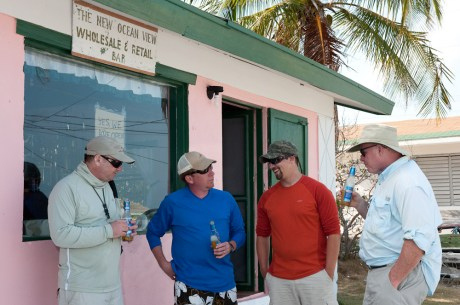 South Andros - Relaxing at the Bar