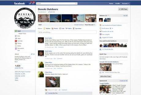 Deneki Facebook Page