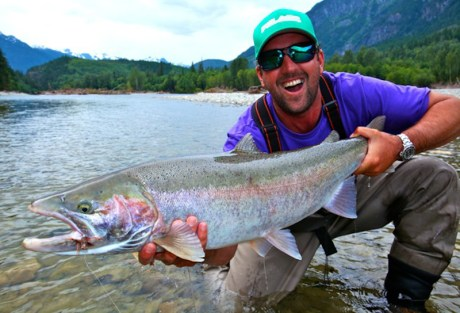 Dean Steelhead on Dry