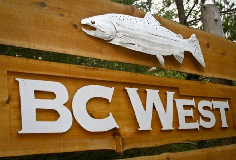 BC West Sign