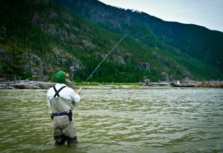 Spey Cast on the Dean River