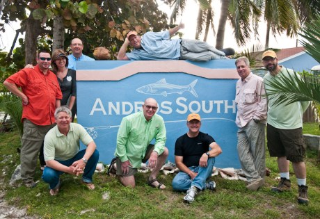 Andros South Sign by Louis Cahill Photography