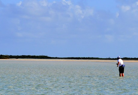 Wading for Bonefish Tips