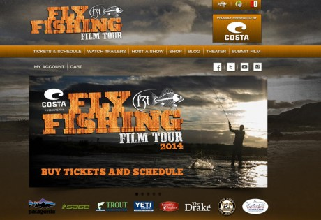 Fly Fishing Film Tour 2014