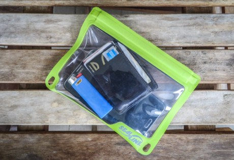 Seal Line Dry Pouch