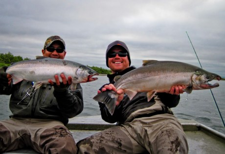 Silver Salmon and Waders