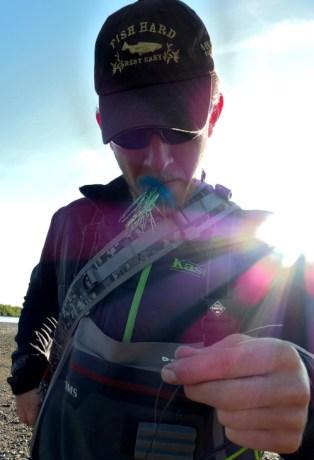 Fly Fishing at Alaska West